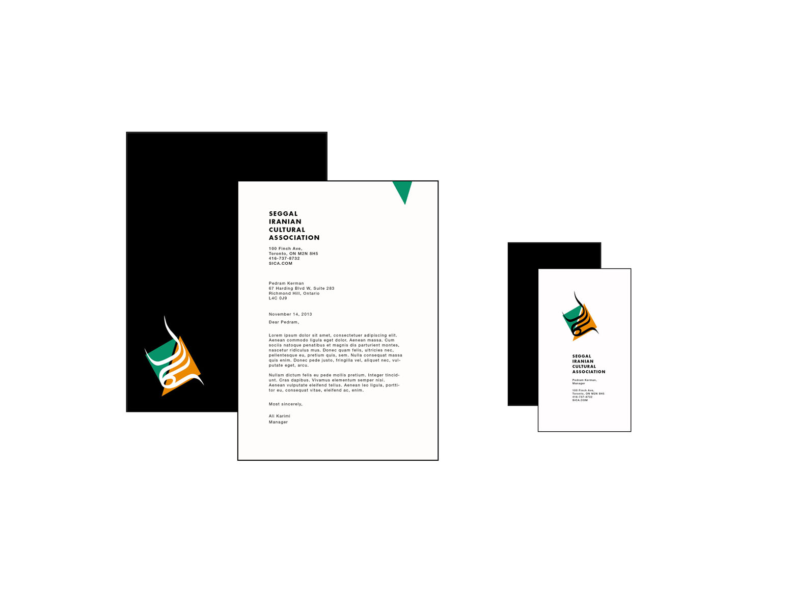 seggal business card